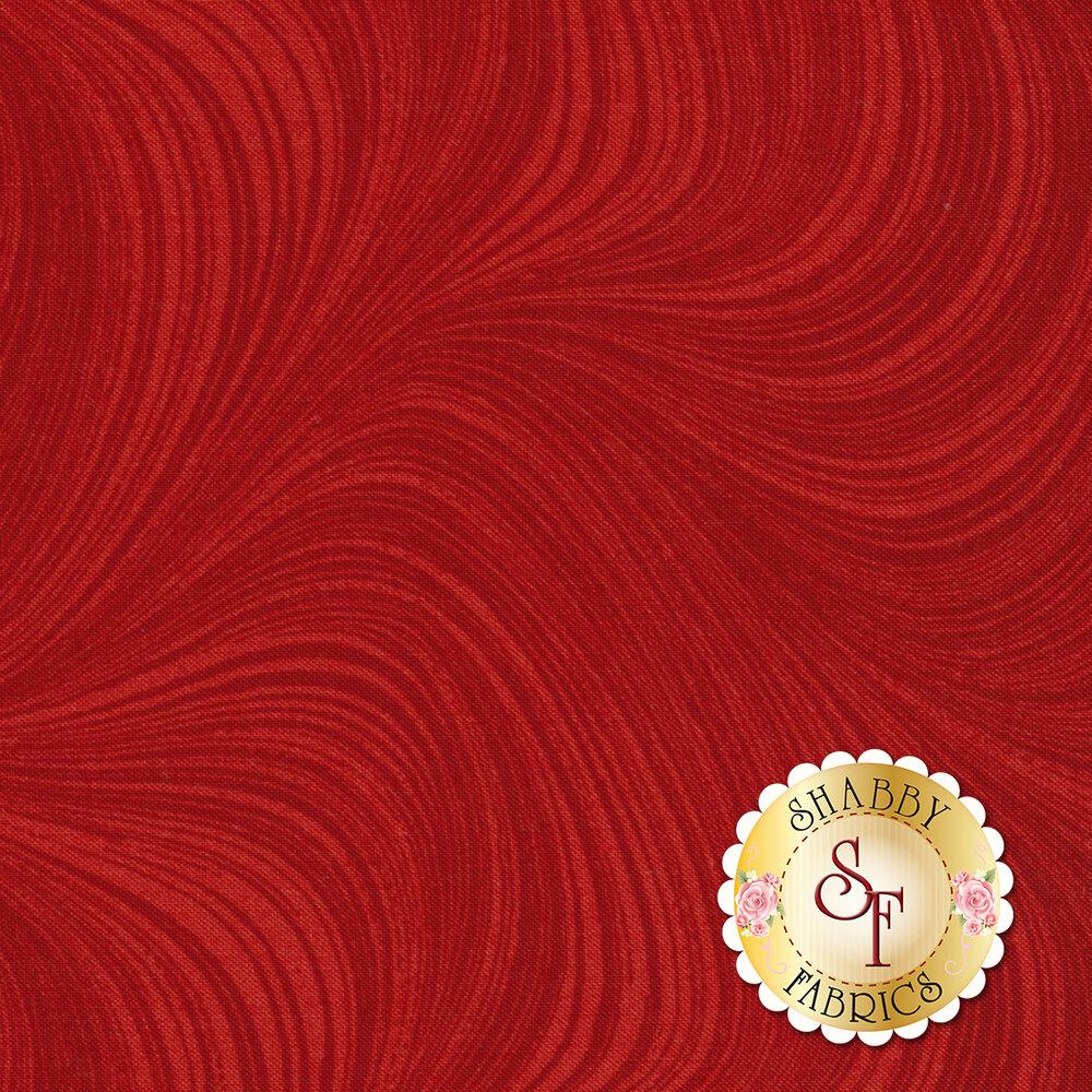 Wave Texture 2966-20 Cayenne by Jackie Robinson by Benartex Fabrics
