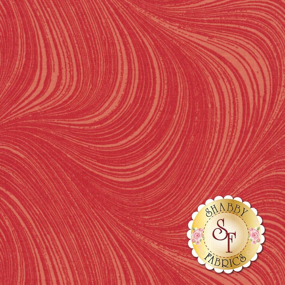 Tonal pink wave texture | Shabby Fabrics
