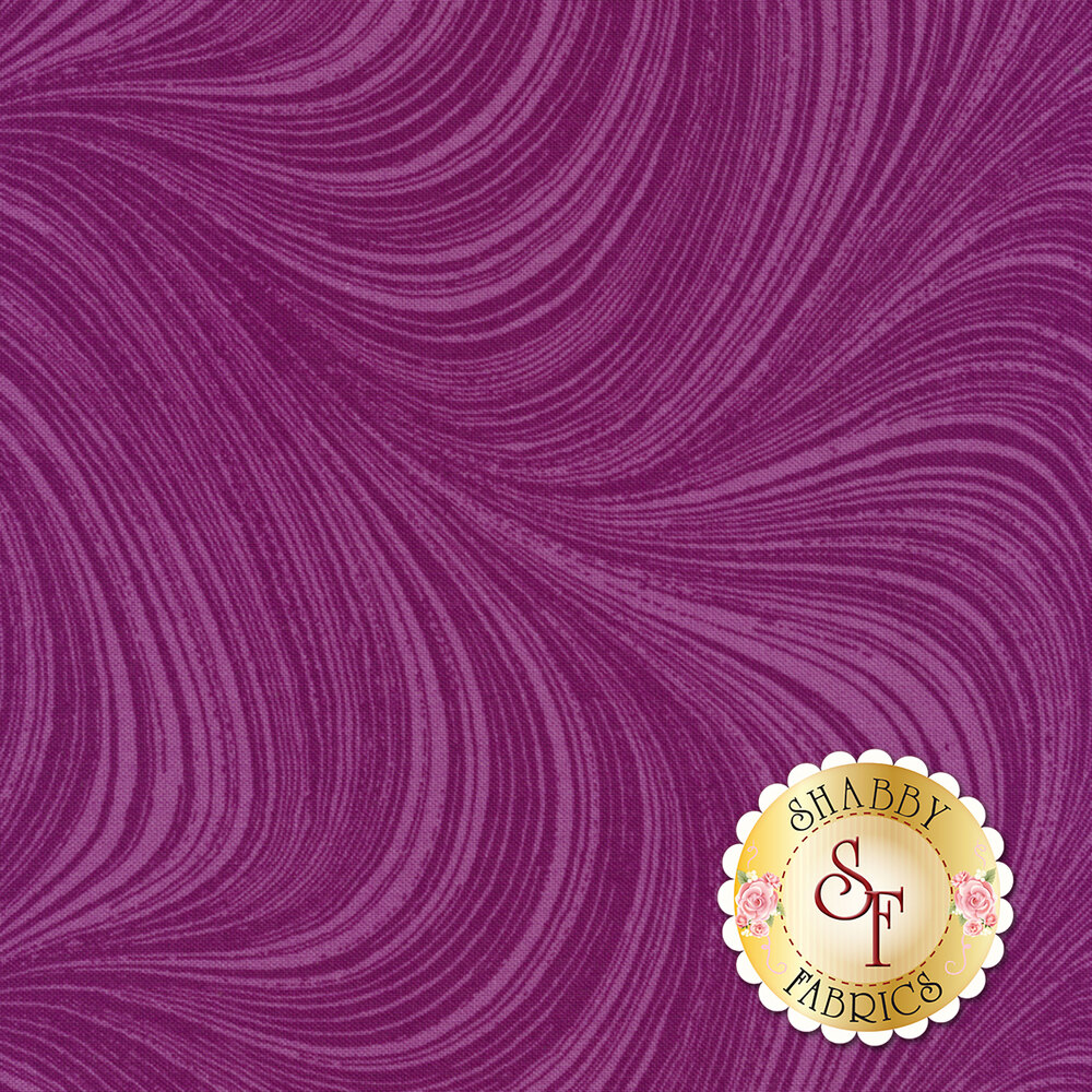 Wave Texture 2966-26 Orchid by Jackie Robinson by Benartex Fabrics