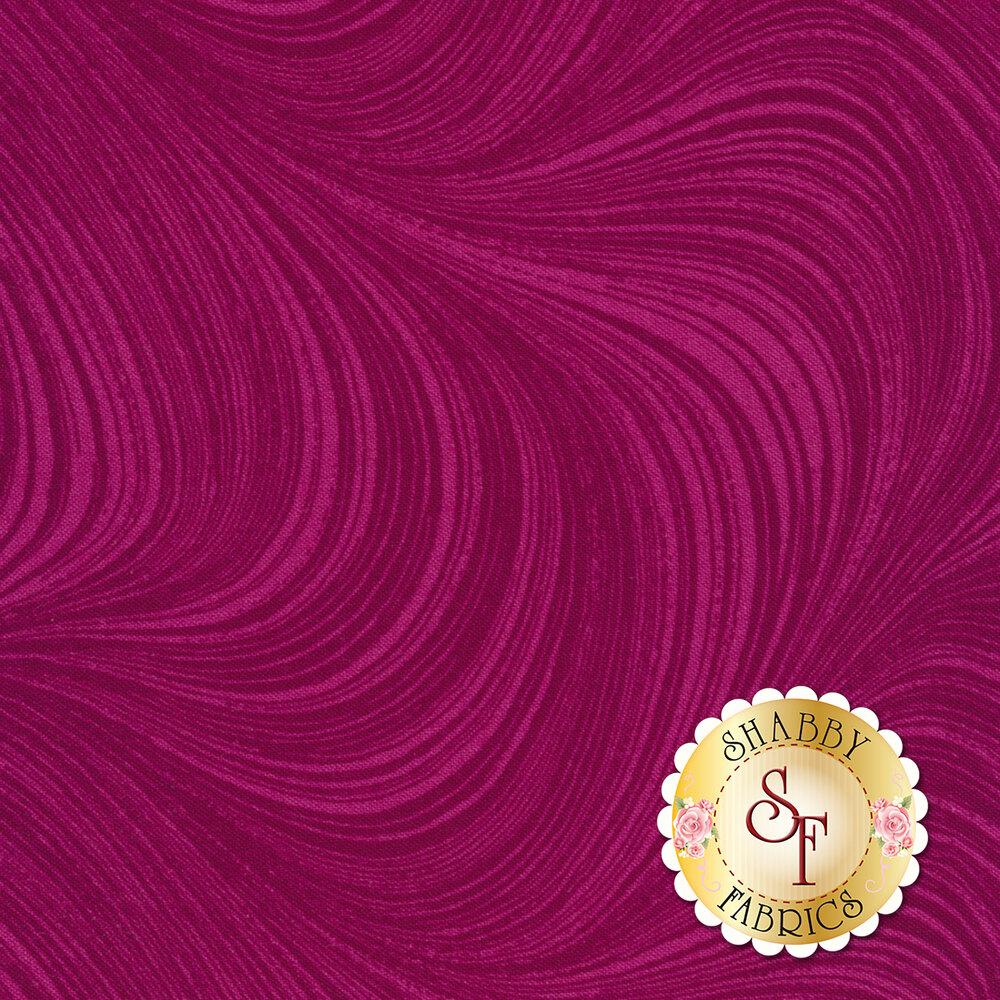 Wave Texture 2966-28 Fuchsia by Jackie Robinson by Benartex Fabrics
