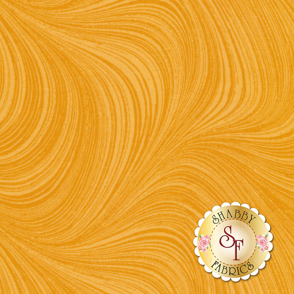 Wave Texture 2966-34 Honey by Jackie Robinson for Benartex Fabrics