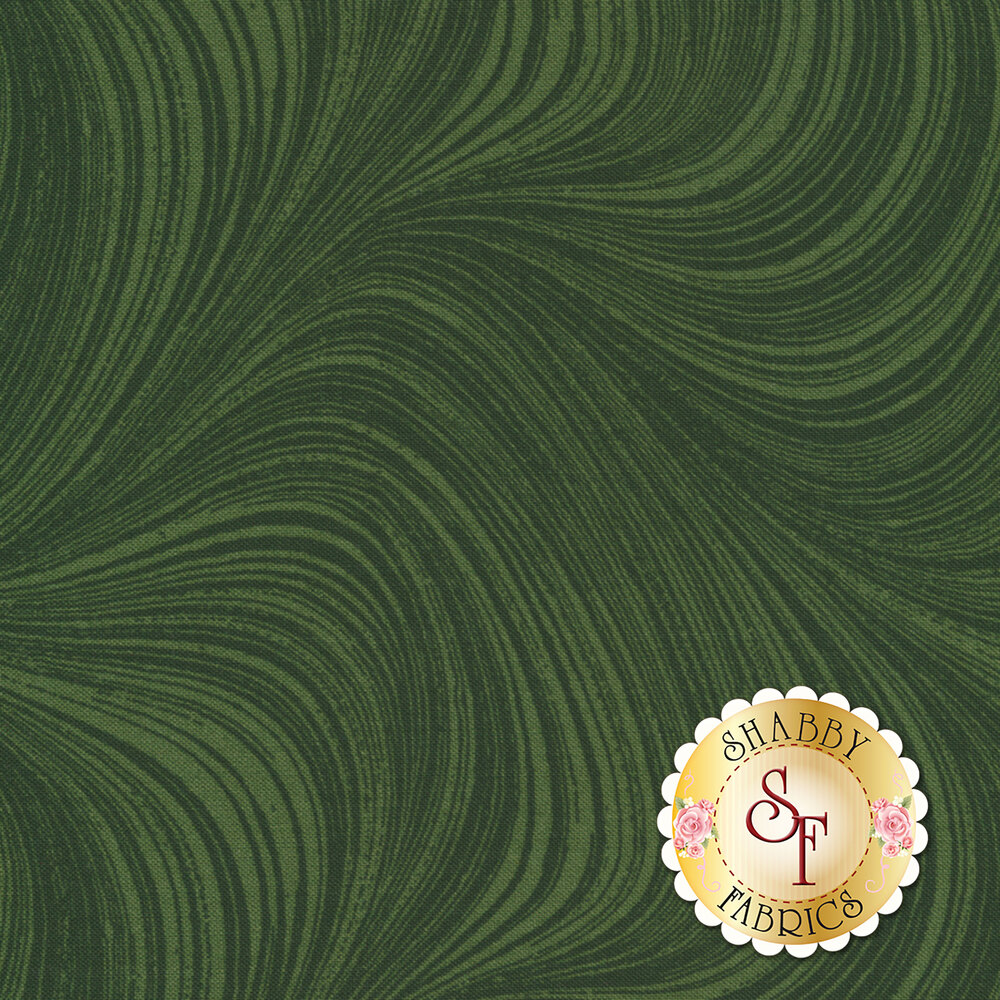 Wave Texture 2966-45 Forest by Jackie Robinson by Benartex Fabrics