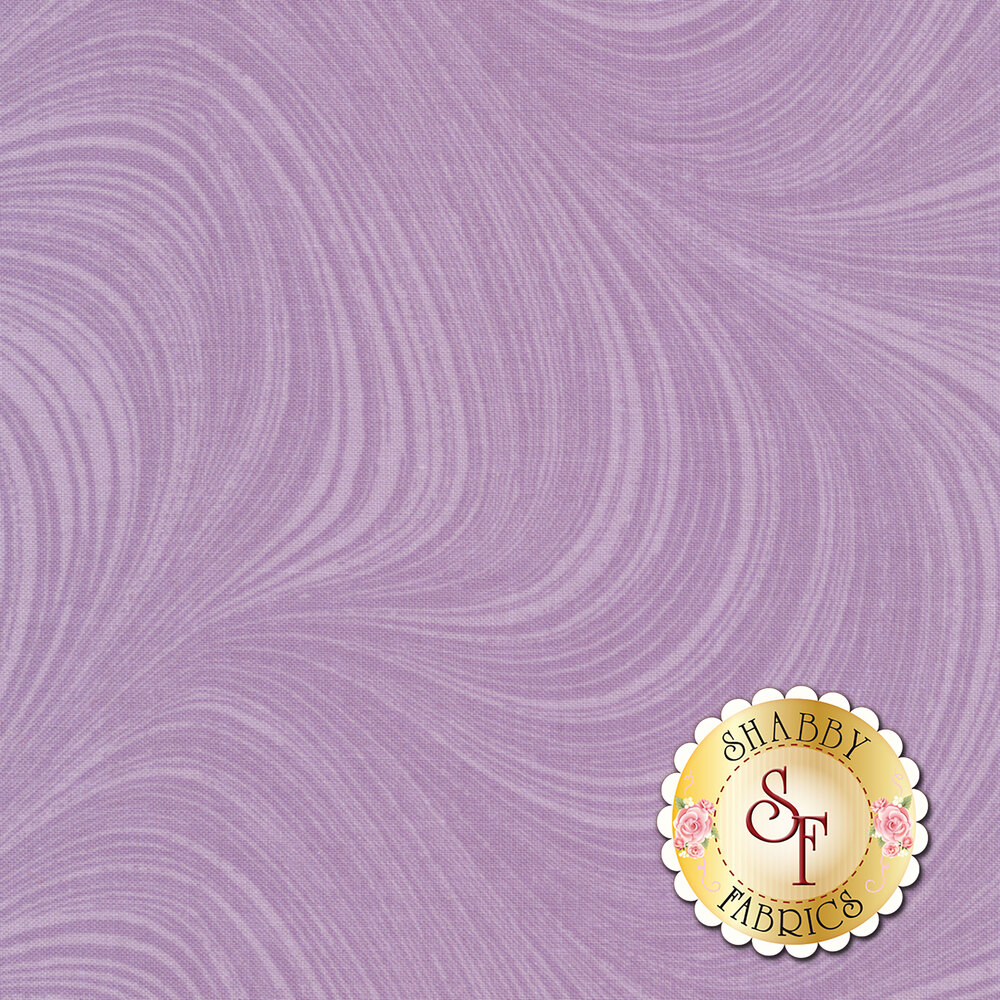 Wave Texture 2966-64 Purple by Jackie Robinson by Benartex Fabrics