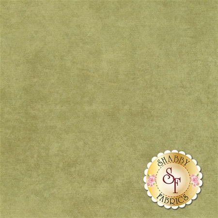 Mottled light green fabric