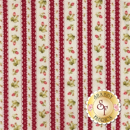 Welcome Home Flannel F8364-R by Jennifer Bosworth for Maywood Studio Fabrics