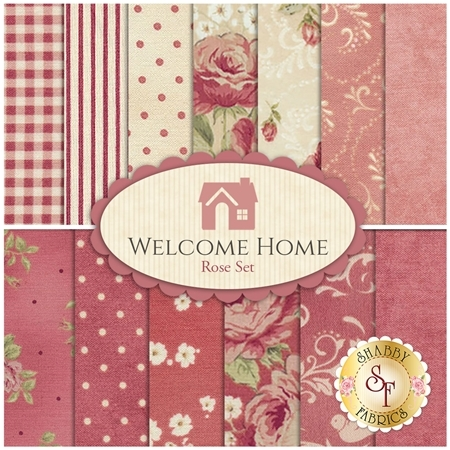 Welcome Home Collection One  13 Half Yard Set - Rose Set by Jennifer Bosworth for Maywood Studio Fabrics