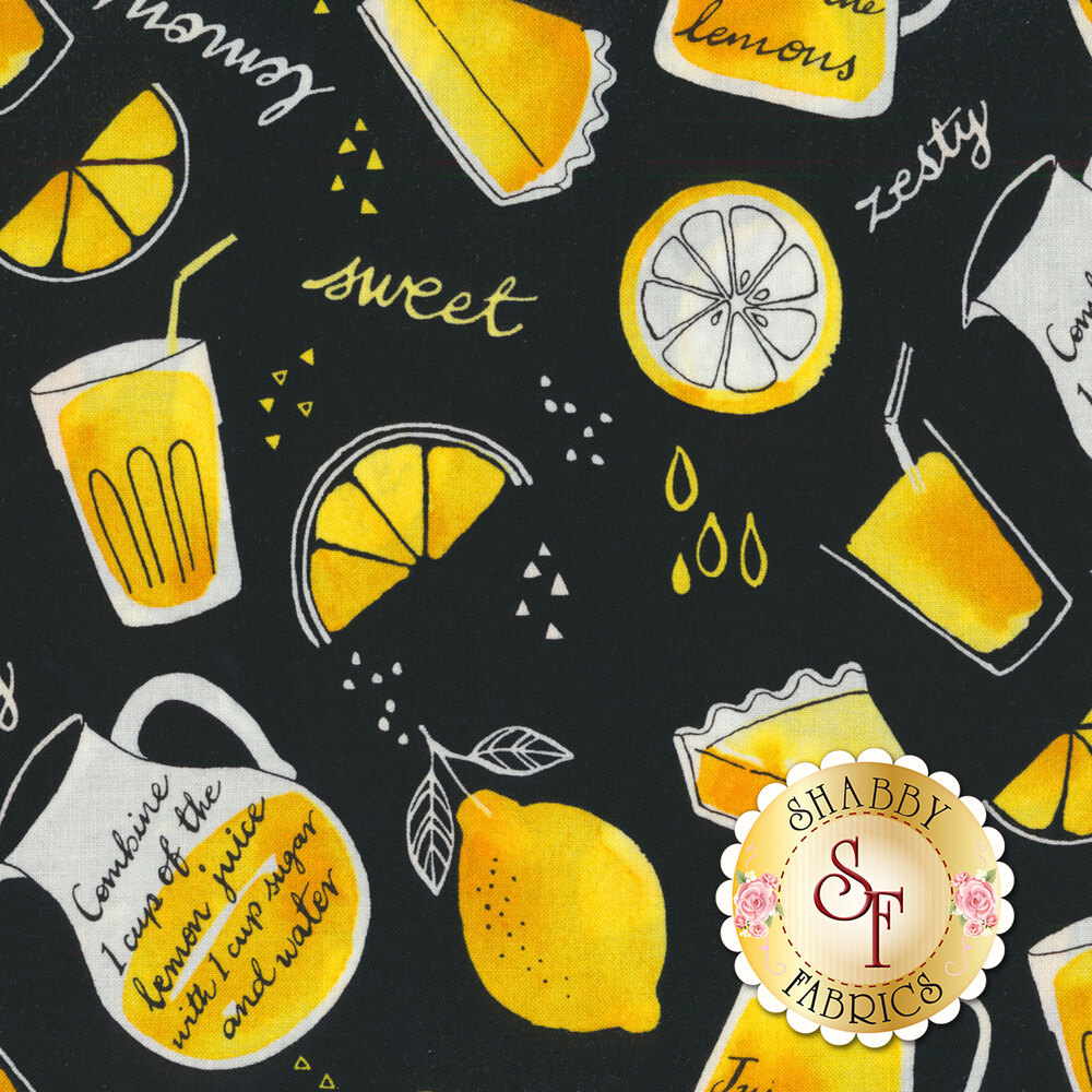 When Life Gives You Lemons 22740-99 by Northcott