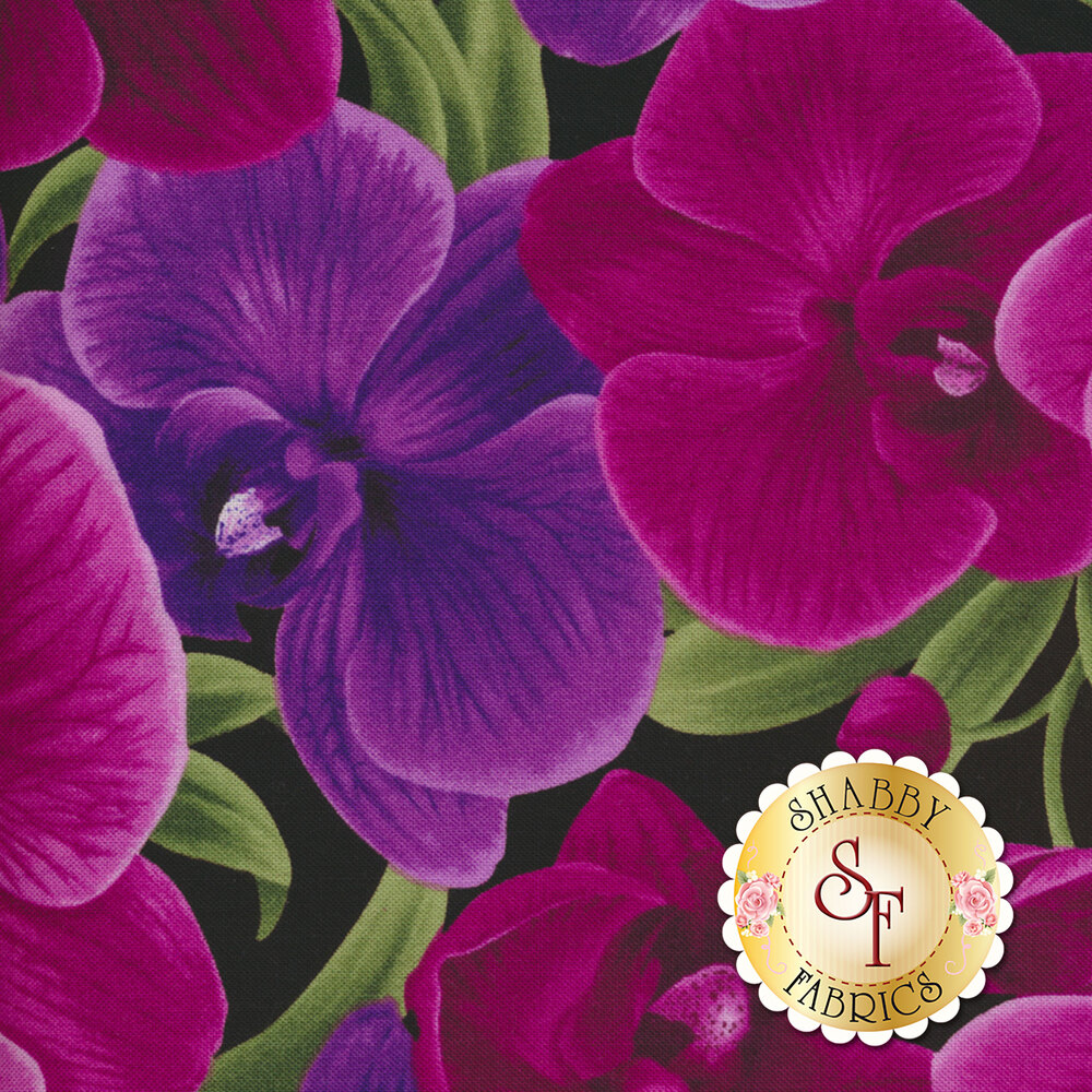 Wild Orchid C3205-Magenta by Timeless Treasures Fabrics
