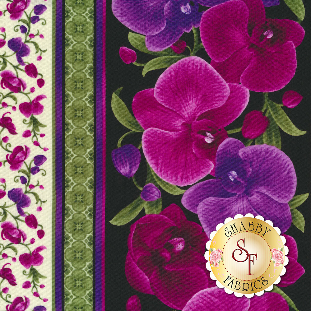 Wild Orchid C3210-Magenta by Timeless Treasures Fabrics