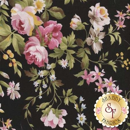 Wild Rose 7880-J by Maywood Studio Fabrics REM N