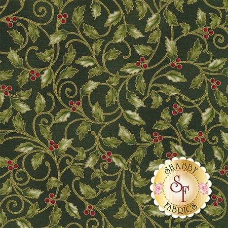 Winter Blossom P7612-60G by Hoffman Fabrics- REM