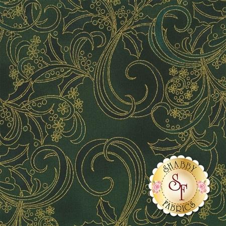 Winter Blossom P7614-60G by Hoffman Fabrics