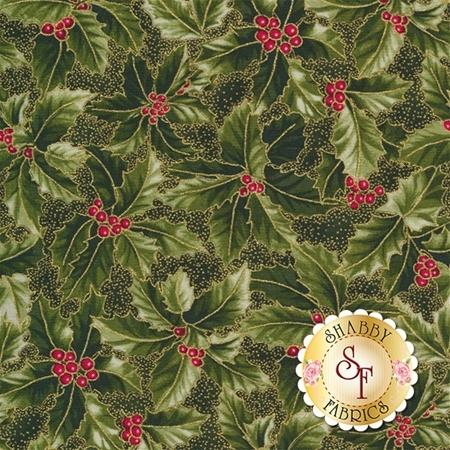 Winter Blossom P7615-60G by Hoffman Fabrics