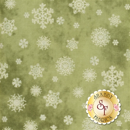 Winter Friends 26714-MDGRE1 by P&B Textiles