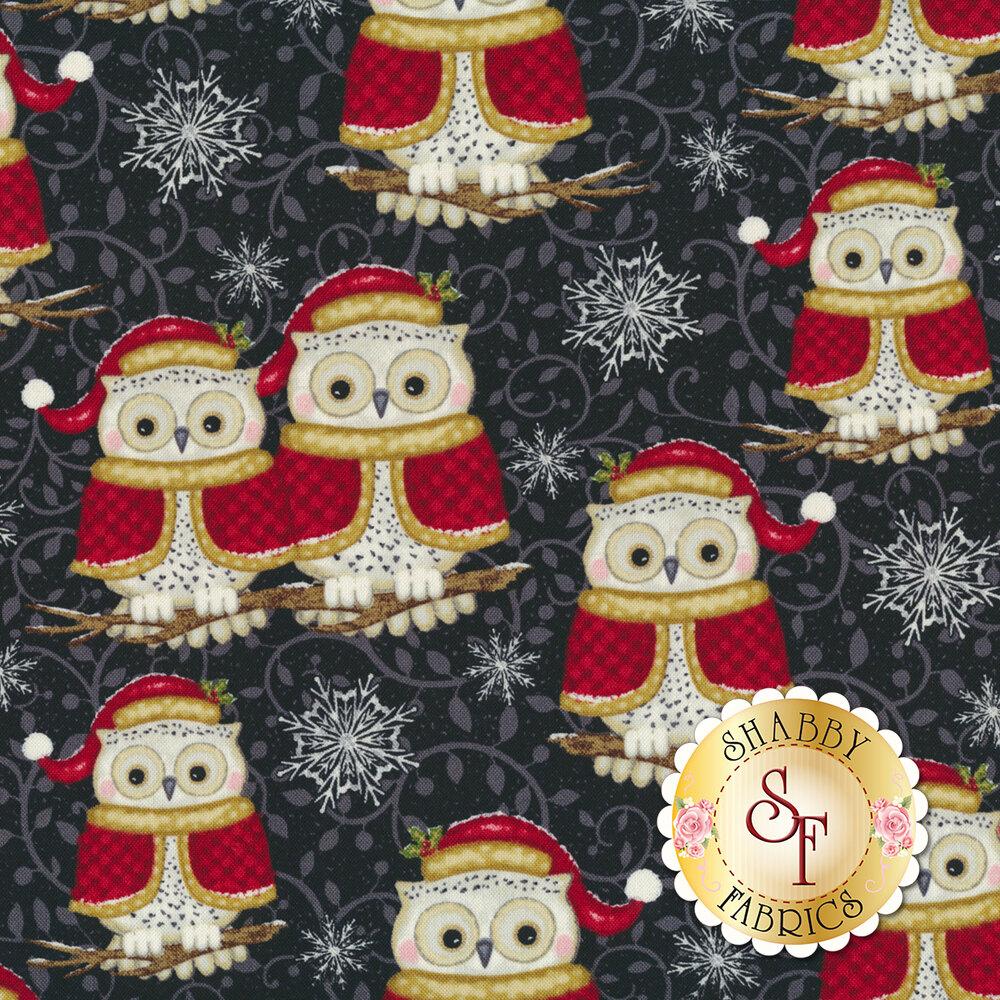 Winter Greetings 4216-99 Set Owls for Studio E Fabrics