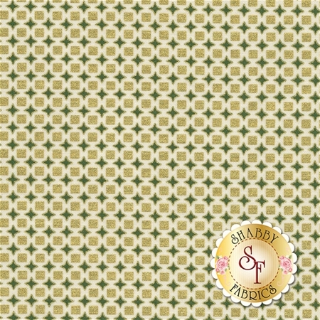 Winter's Grandeur 4 15893-224 Evergreen by Robert Kaufman Fabrics