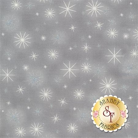 Winter's Grandeur 5 16582-12 Grey by Robert Kaufman Fabrics