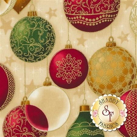 Winter's Grandeur 5 16585-223 Holiday by Robert Kaufman Fabrics REM
