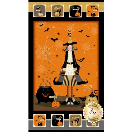 Witchy 3700P-39 Panel by Studio E Fabrics