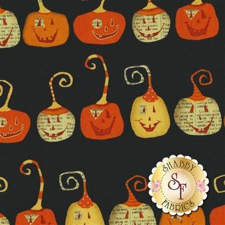 Witchy 3702-99  Pumpkins by Studio E Fabrics
