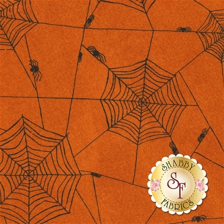 Witchy 3703-33 Spiderweb by Studio E Fabrics
