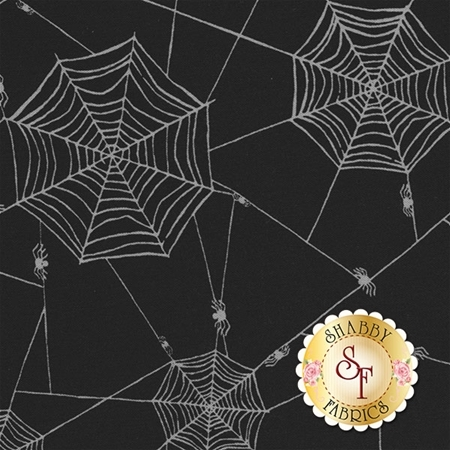 Witchy 3703-99 Spiderweb by Studio E Fabrics- REM