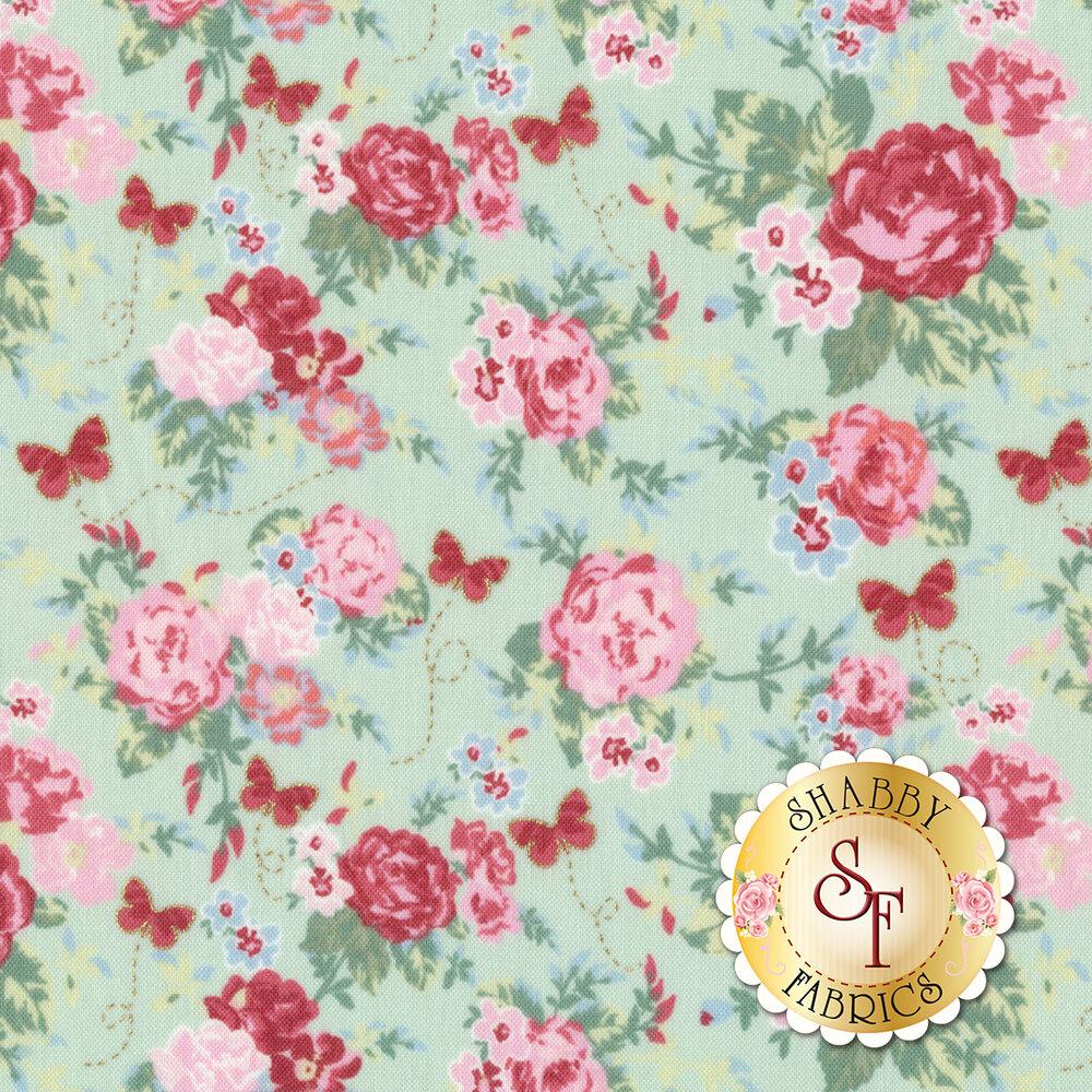 Woodland Rose 31800-60 for Lecien Fabrics