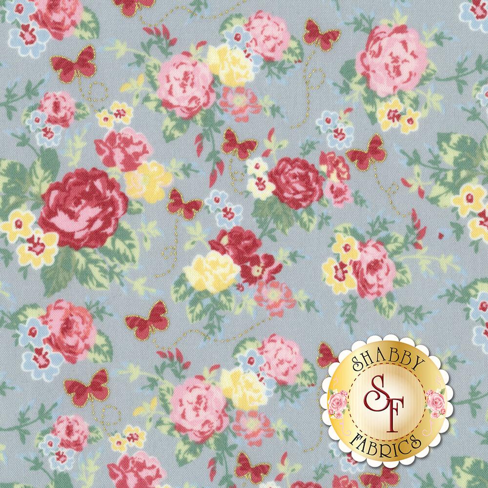 Woodland Rose 31800-70 for Lecien Fabrics
