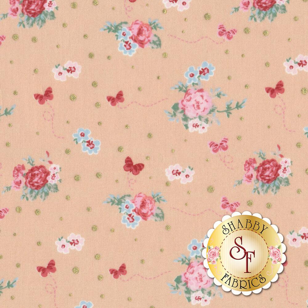 Woodland Rose 31801-12 for Lecien Fabrics