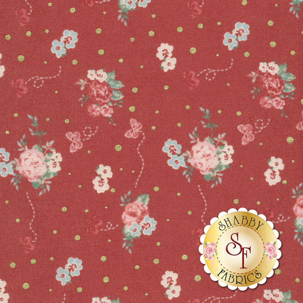 Woodland Rose 31801-30 for Lecien Fabrics