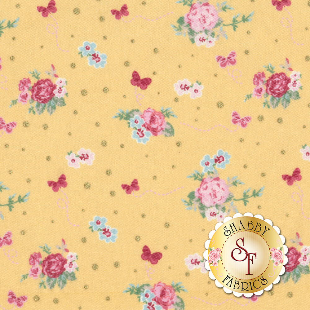 Woodland Rose 31801-50 for Lecien Fabrics