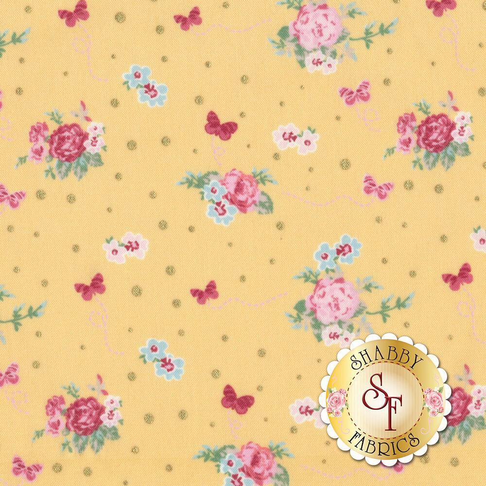 Woodland Rose 31801-50 for Lecien Fabrics