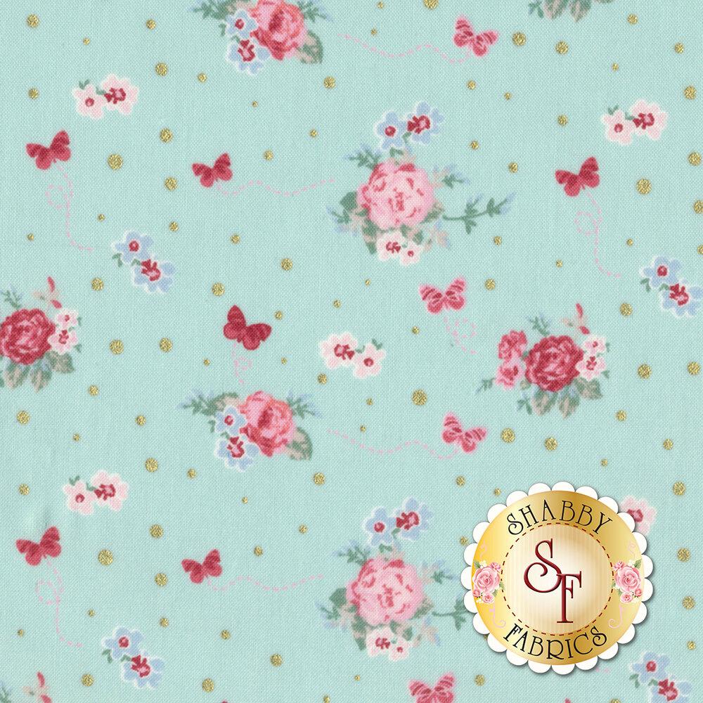 Woodland Rose 31801-70 for Lecien Fabrics