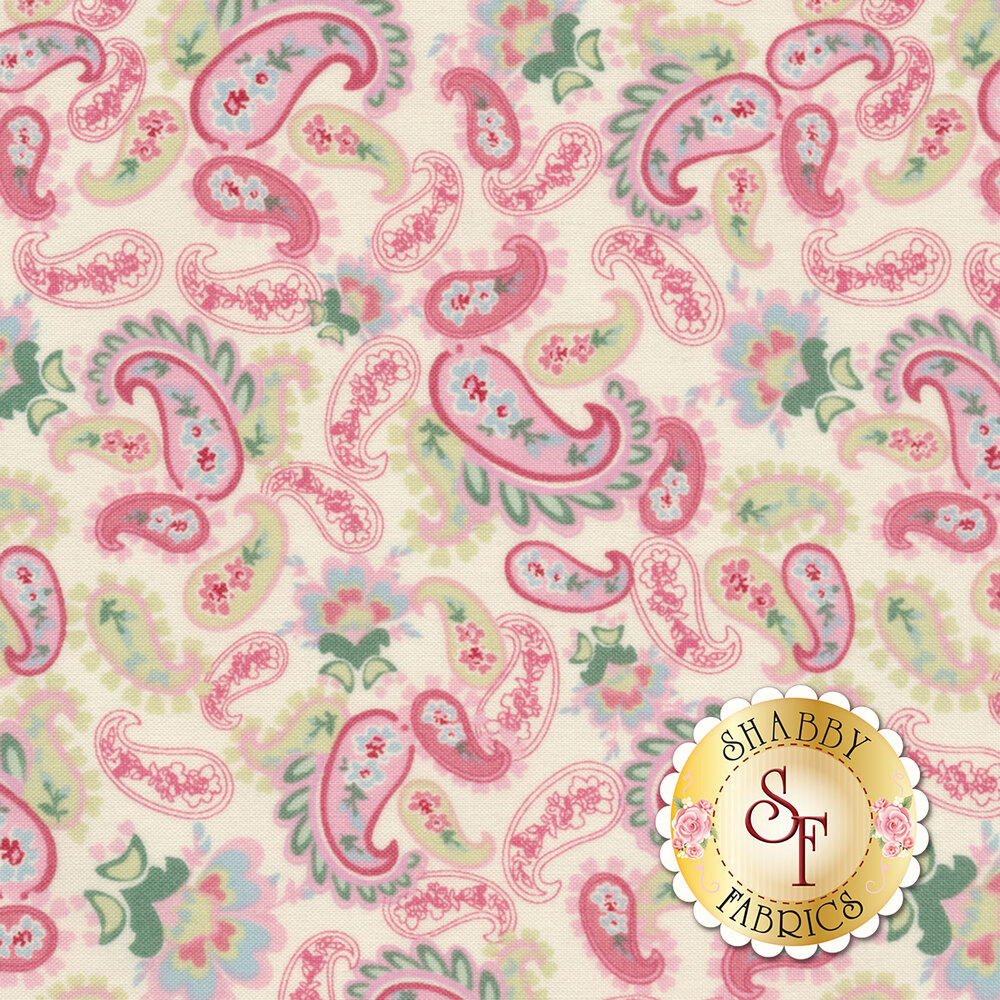 Woodland Rose 31802-10 for Lecien Fabrics