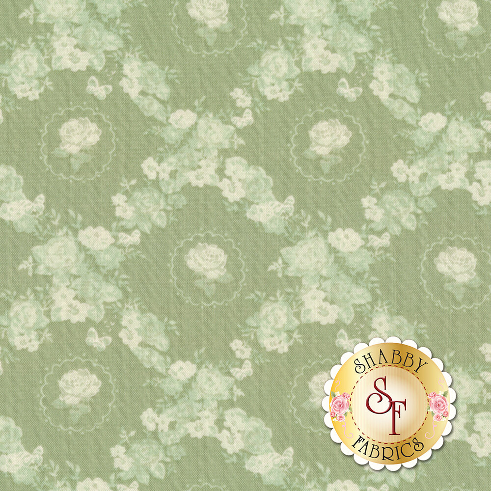Woodland Rose 31804-60 for Lecien Fabrics