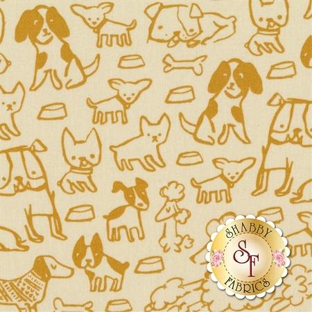 Woof Woof Meow 20563-12 by Moda Fabrics