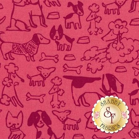 Woof Woof Meow 20563-18 by Moda Fabrics