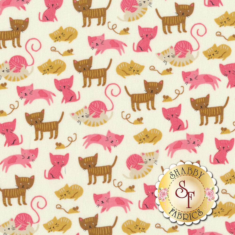 Woof Woof Meow 20564-11 by Moda Fabrics