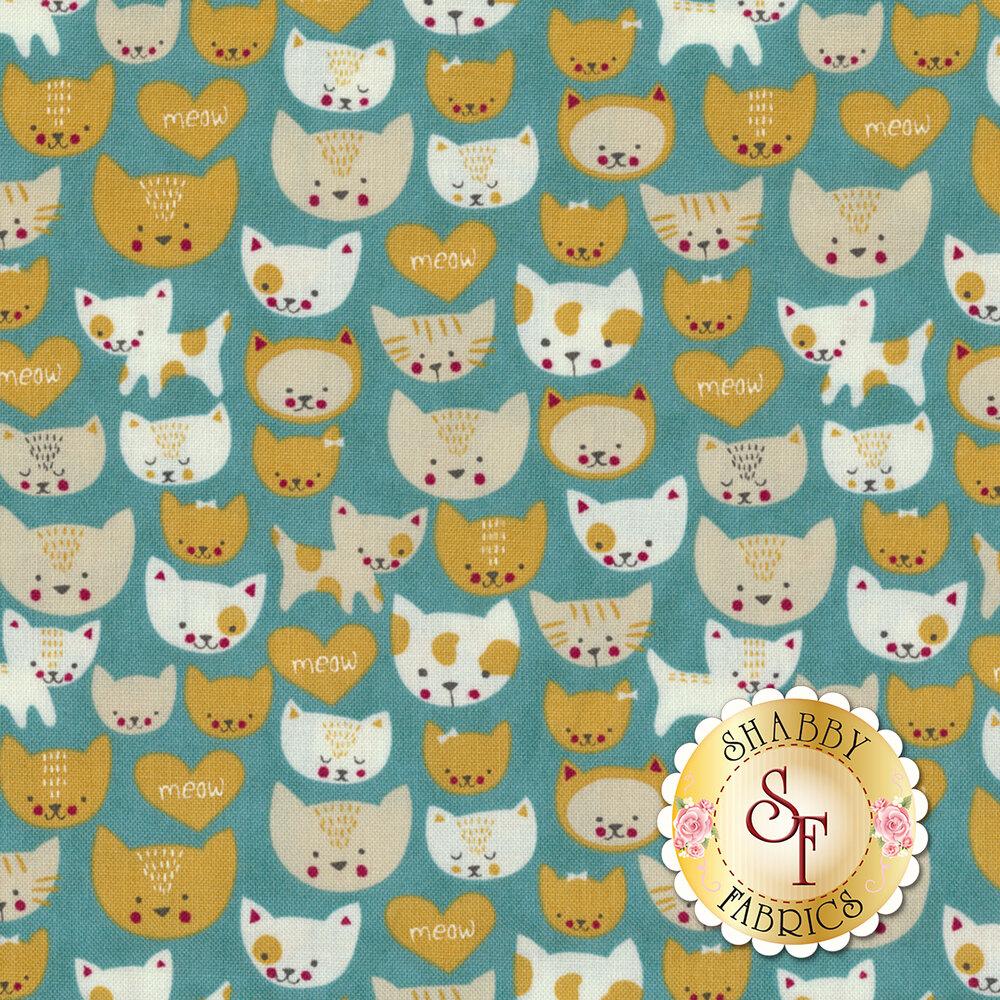 Woof Woof Meow 20565-16 by Moda Fabrics