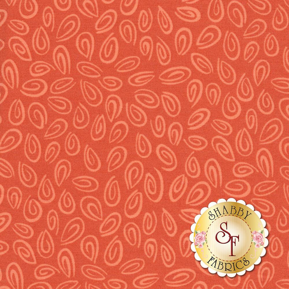 Susybee Buddies 20103-450 Monotone Swirls Coral by Hamil Textiles