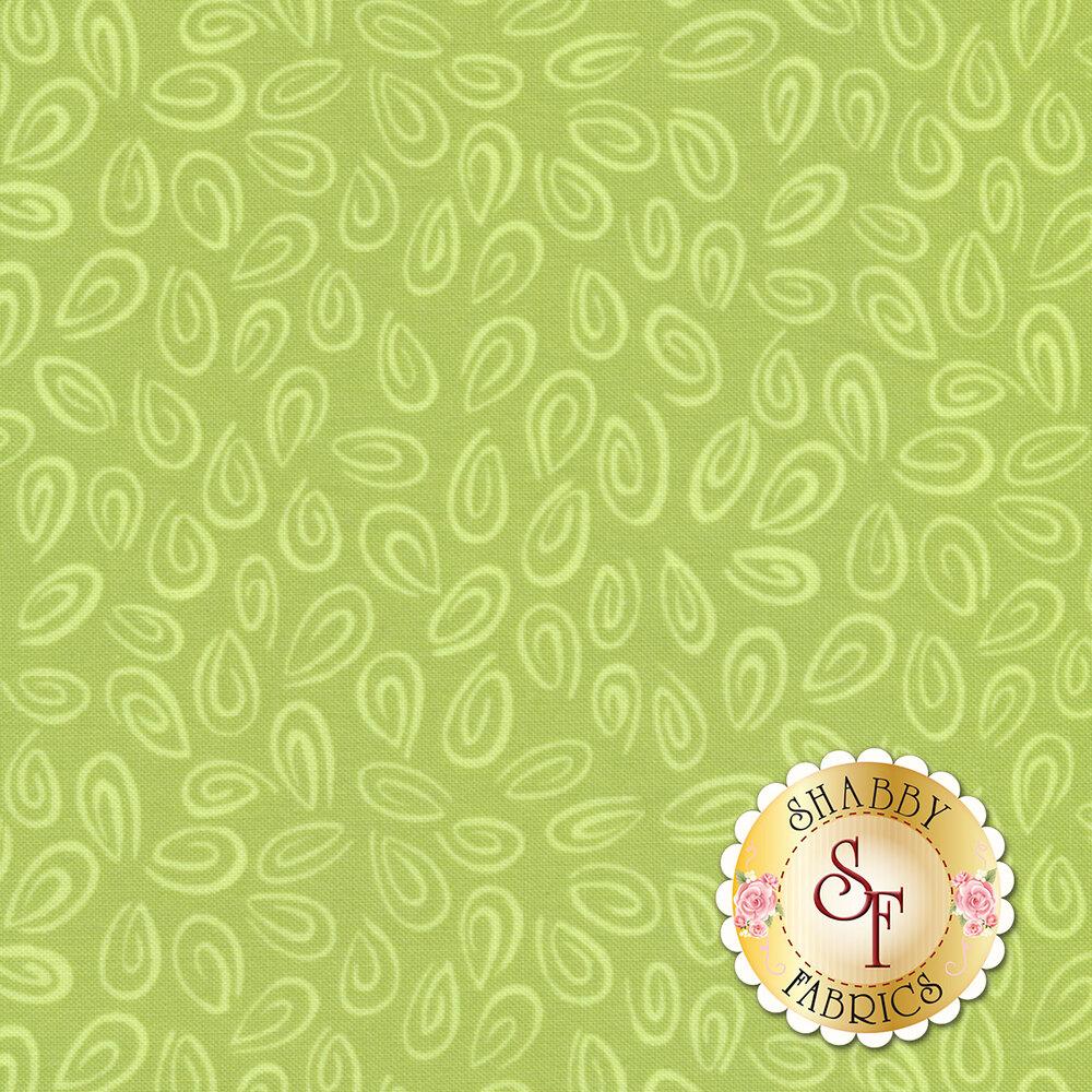 Susybee Buddies 20103-830 Monotone Swirls Spring Green by Hamil Textiles