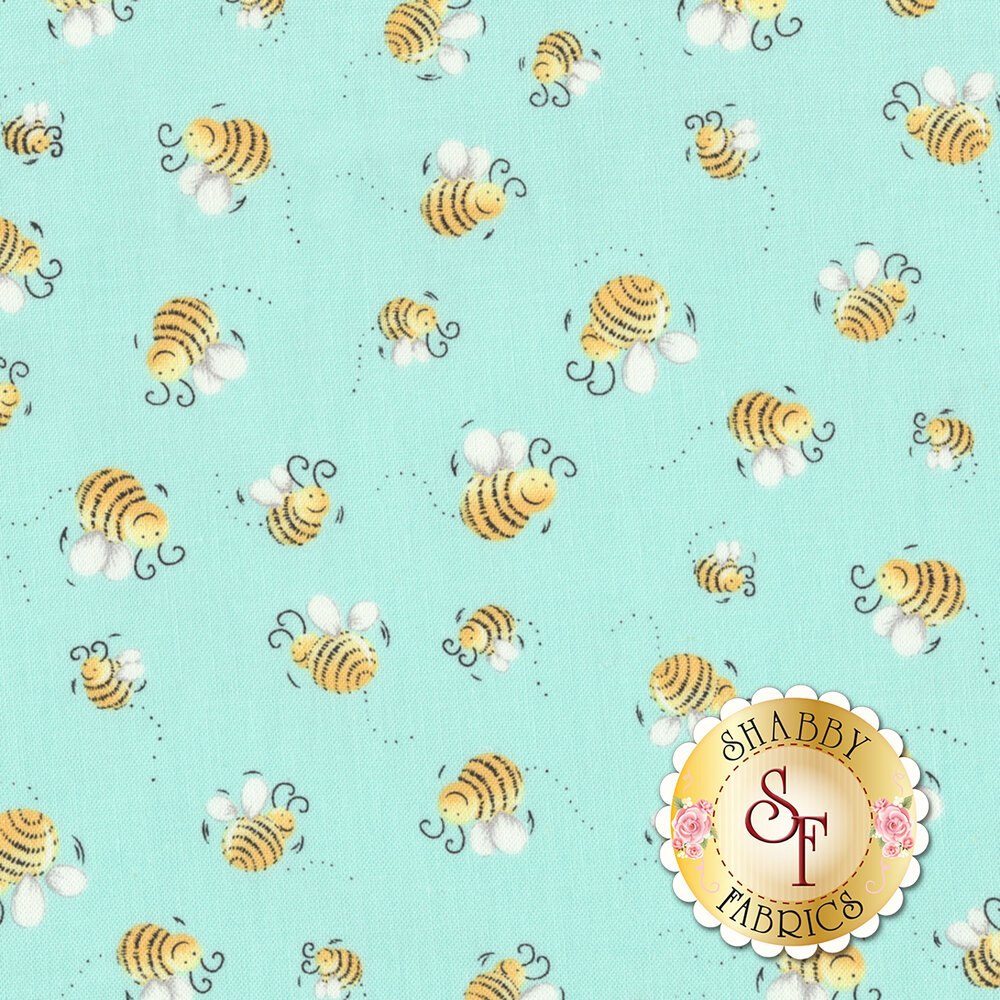 Susybee Buddies 20197-930 Susy's Bees by Hamil Textiles