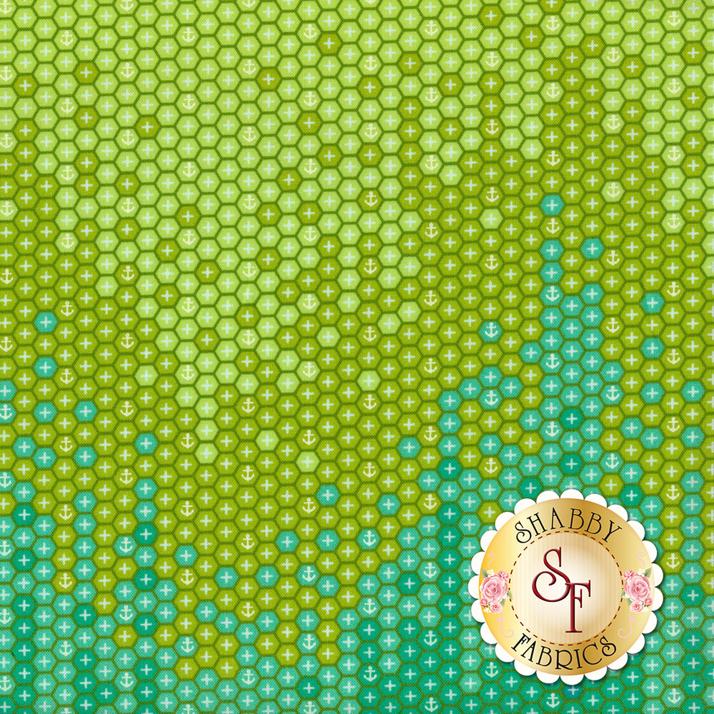 Zuma PWTP124.SEAGL Seaglass High Tide by Tula Pink for Free Spirit Fabrics