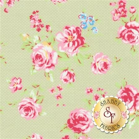 Antique Flower Pastel 31421-60 by Lecien Fabrics- REM