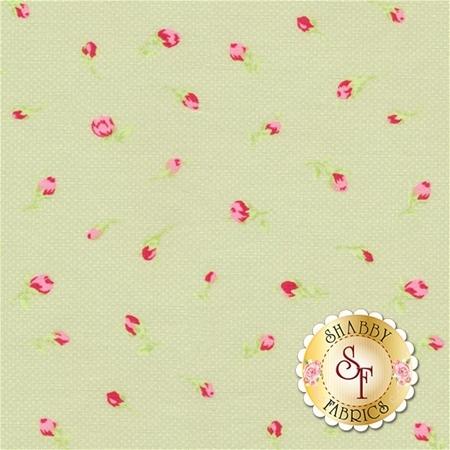Antique Flower Pastel 31423-60 by Lecien Fabrics