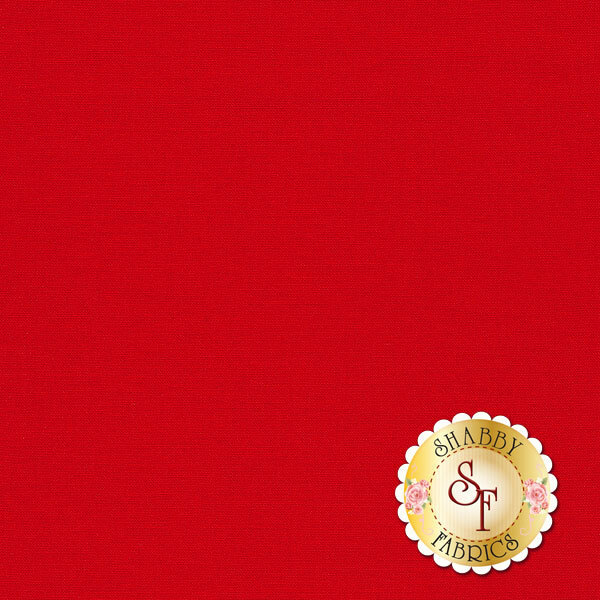 Bella Solids 9900-123 Betty's Red by Moda Fabrics