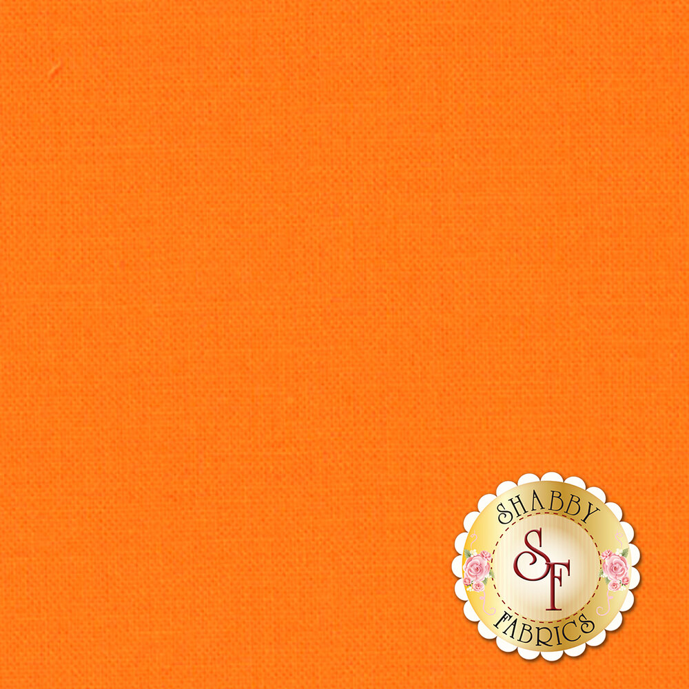 Bella Solids 9900-161 Amelia Orange by Moda Fabrics