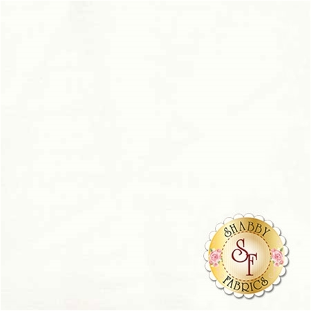 Bella Solids 9900-98 White Bleached by Moda Fabrics REM C