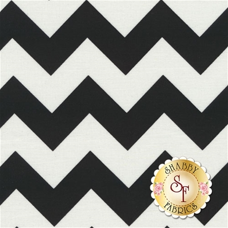 Chevron 320-110 Black by Riley Blake Designs