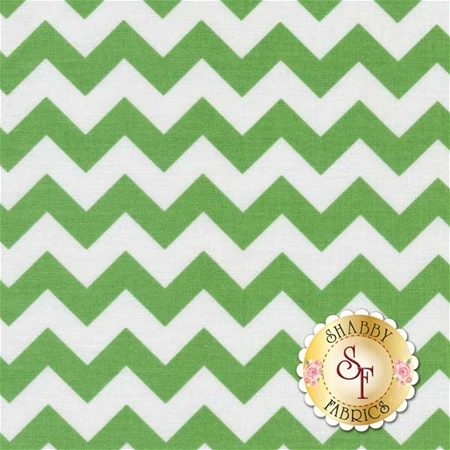 Chevron 340-30 Green by Riley Blake Designs